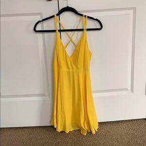 FOREVER 21 Yellow Sundress